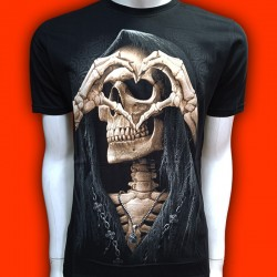 T-SHIRT LOVERS SKULL