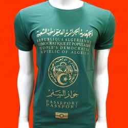 T-SHIRT Passeport Algérien...