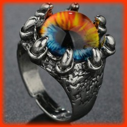 BAGUE EYE OF FIRE CROWN